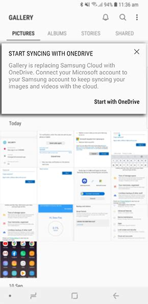 Linking my Samsung Account to OneDrive | Samsung Support