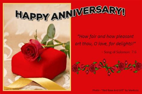 Happy Anniversary With Scripture! Free Gifts eCards