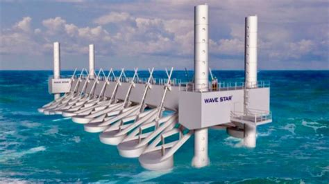 Ocean Power Plant Generates Energy From Waves - Unlimited