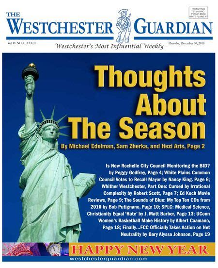 The Westchester Guardian - December 30, 2010 Edition