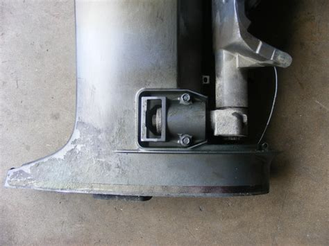 """Yamaha Outboard HPDI 150-175-200 Midsection 25"""" Upper"""