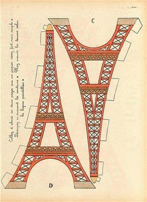 Eiffel Tower Valentine's Day Craft with printable
