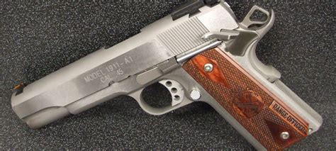 Springfield Armory Range Officer Stainless 1911