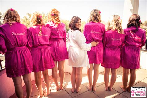 """Personalized Bridal Party Robes {aka """"Getting Ready In"""