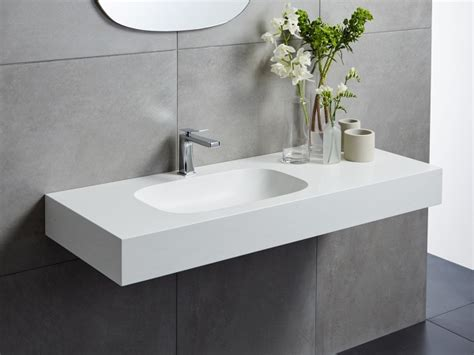 Corian Solid Surface - Cirrus White