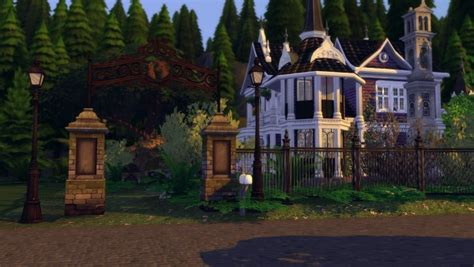Ideassims4-art: 77 Good witch realm of magic • Sims 4